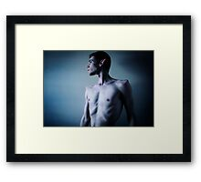 Dark elf Framed Print