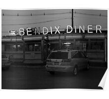 Hasbrouck Heights, NJ - Bendix Diner Poster