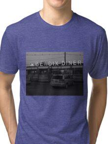 Hasbrouck Heights, NJ - Bendix Diner Tri-blend T-Shirt