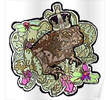 King Toad I Poster