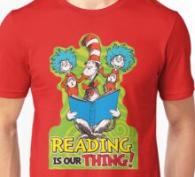 Dr Seuss Reading Quote Unisex T-Shirt