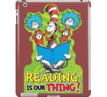 Dr Seuss Reading Quote iPad Case/Skin