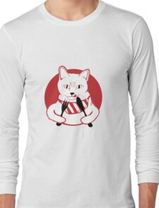 Hungry Cat Long Sleeve T-Shirt