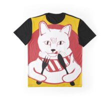 Hungry Cat Graphic T-Shirt