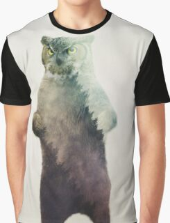 Owlbear in Forest Graphic T-Shirt