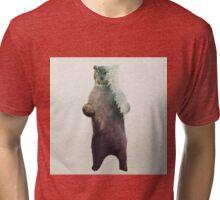 Owlbear in Forest Tri-blend T-Shirt