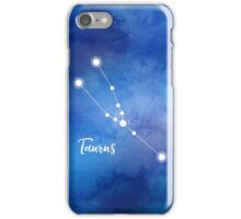 Taurus Zodiac Sign, April 20 - May 20 iPhone Case/Skin