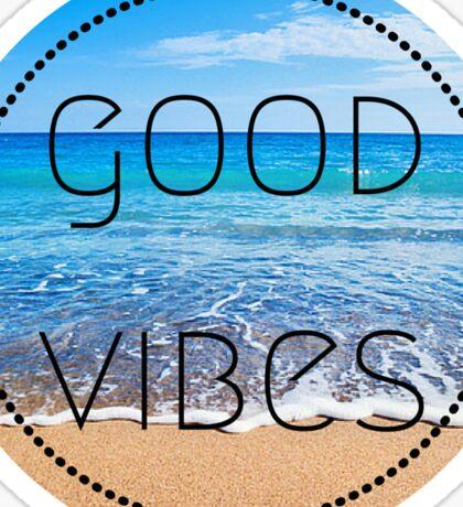 Good Vibes Beach Sticker