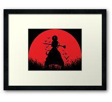 Aladdin Red Moon Magi Framed Print