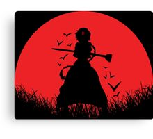 Aladdin Red Moon Magi Canvas Print