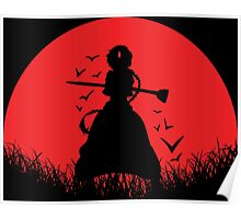 Aladdin Red Moon Magi Poster