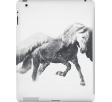 Pegasus (Black & White) iPad Case/Skin
