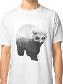 Owlbear in Mountains (Black & White) Classic T-Shirt