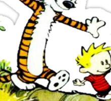 Calvin and Hobbes' Wonderful Adventure Sticker