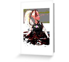 barbie in worms  Greeting Card