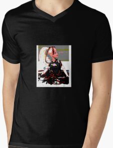 barbie in worms  Mens V-Neck T-Shirt