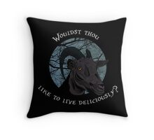 Black Phillip, Black Phillip  Throw Pillow