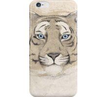 Blue Eyed Tiger iPhone Case/Skin