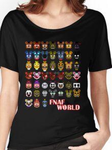 FNAF World Women's Relaxed Fit T-Shirt
