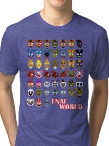 FNAF World Tri-blend T-Shirt