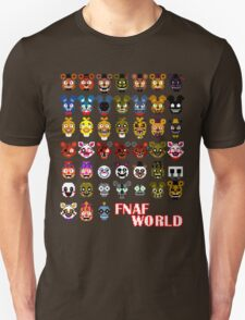 FNAF World Unisex T-Shirt