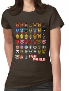FNAF World Womens Fitted T-Shirt