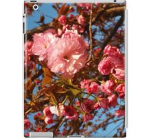 Pink Spring Blooms iPad Case/Skin