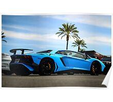 Not a Lamborghini Aventador SV :) Poster