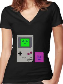 Gameinites Women's Fitted V-Neck T-Shirt