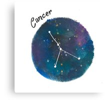cancer galaxy  Canvas Print