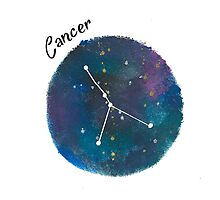 cancer galaxy  Photographic Print
