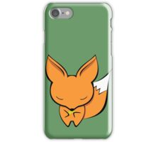 The fox and the gold pan flute iPhone Case/Skin