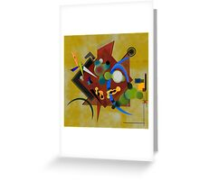 Abstract composition 191 Greeting Card