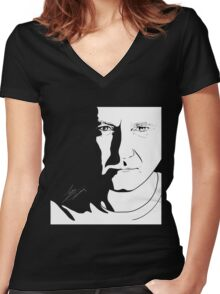Phil Collins Women's Fitted V-Neck T-Shirt
