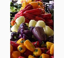 Colorful Peppers, Jersey City Farmers Market, Jersey City, New Jersey T-Shirt
