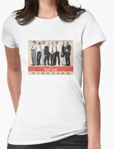 The West Wing Retro Poster Womens Fitted T-Shirt
