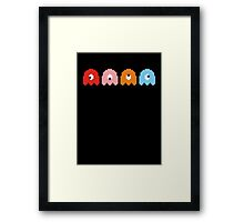 One Eyed Ghosts Framed Print
