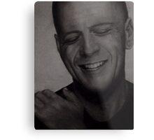 Bruce Willis Wall Art Metal Print