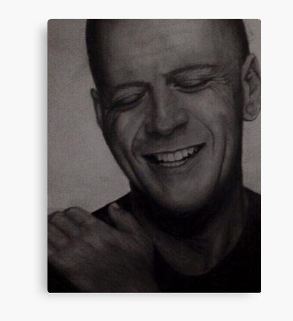 Bruce Willis Wall Art Canvas Print
