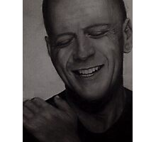 Bruce Willis Wall Art Photographic Print