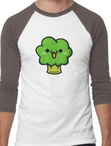 Cute broccoli Men's Baseball ¾ T-Shirt