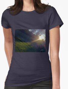 Nature Lights our Path Womens Fitted T-Shirt