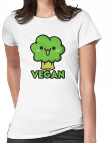 Cute vegan Womens Fitted T-Shirt