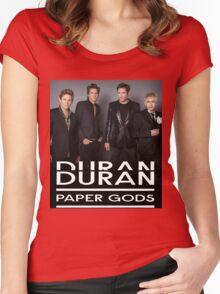 Duran Duran Paper Gods Women's Fitted Scoop T-Shirt