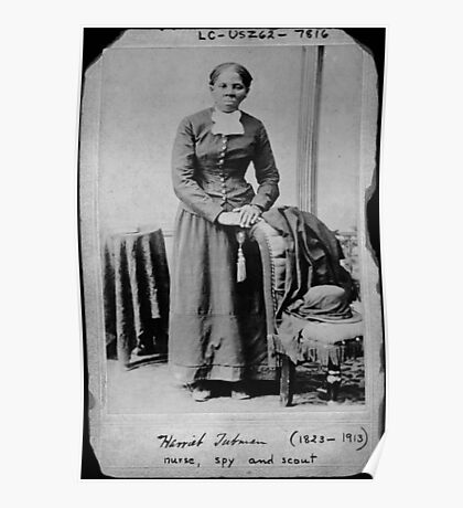 Harriet Tubman: Nurse, spy, and scout Poster
