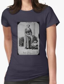Harriet Tubman: Nurse, spy, and scout Womens Fitted T-Shirt