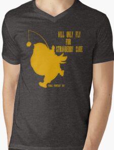 FFXIV - Fat Chocobo Problems Mens V-Neck T-Shirt