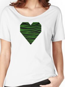 0385 Lincoln Green Tiger Women's Relaxed Fit T-Shirt