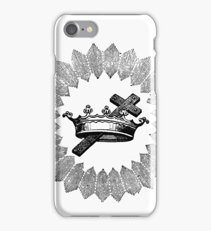 Cross and Crown iPhone Case/Skin