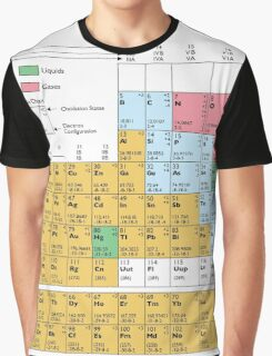 Periodic Table Of The Elements Graphic T-Shirt